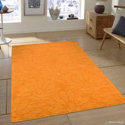 Hand-Woven Mango Area Rug Rug Size: 711 x 911