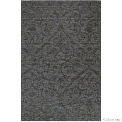 Hand-Woven Charcoal Area Rug