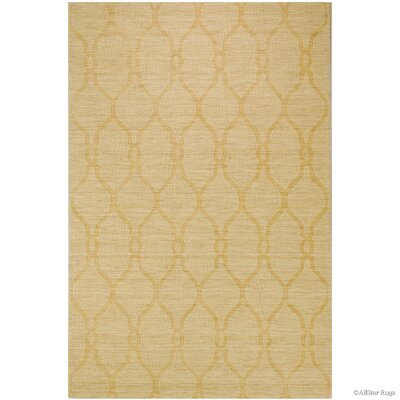 Hand-Woven Honey Area Rug