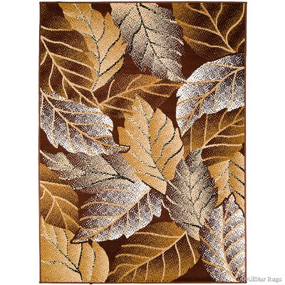 Phillips Brown Area Rug Rug Size: 77 x 106