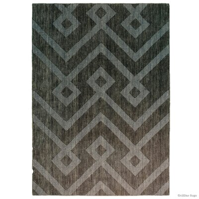 Gray Area Rug Rug Size: 411 x 7