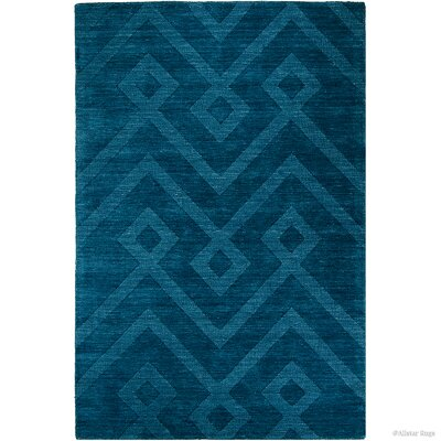 Blue Area Rug Rug Size: 411 x 7