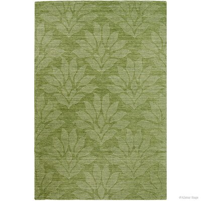 Hand-Woven Green Area Rug Rug Size: 411 x 7