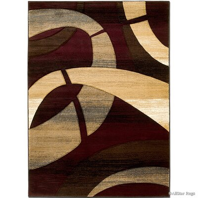 Multi-Colored Area Rug Rug Size: 79 x 105
