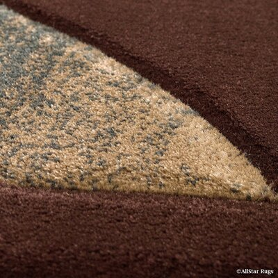 Chocolate Area Rug Rug Size: 79 x 105
