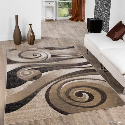 Champagne Area Rug Rug Size: 39 x 51