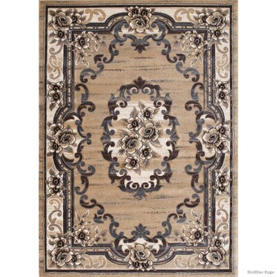 Champagne Area Rug Rug Size: Rectangle 3'9