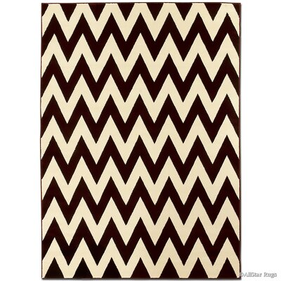 Brown/Beige Area Rug Rug Size: Rectangle 39 x 51