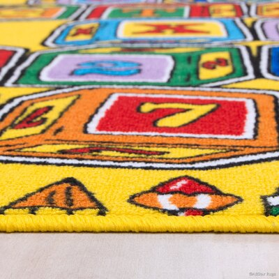 Hand-Tufted Area Rug Rug Size: 73 x 102