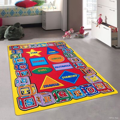 Hand-Tufted Area Rug Rug Size: 411 x 611