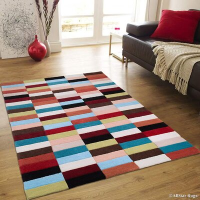 Hand-Woven Area Rug Rug Size: 411 x 611