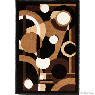 Abstract/Geometric Doormat Rug Size: Rectangle 2 x 3