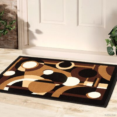 Abstract/Geometric Doormat Rug Size: 2 x 3