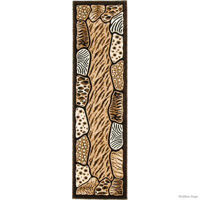 Hand-Woven Black Area Rug Rug Size: Runner 2 x 72