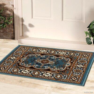 Doormat Color: Blue