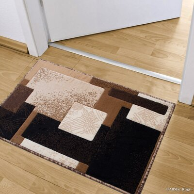Kegley High-Quality Colorblock Designed Double Shot Drop-Stitch Carving Doormat Color: Berber