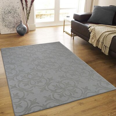 Alicia High-Quality Wool Extra Soft Ice Blue Area Rug