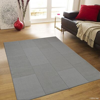 Irma High-Quality Wool Ultra Soft Gray Area Rug