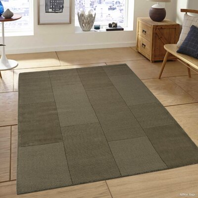 Irma Olive Green Area Rug