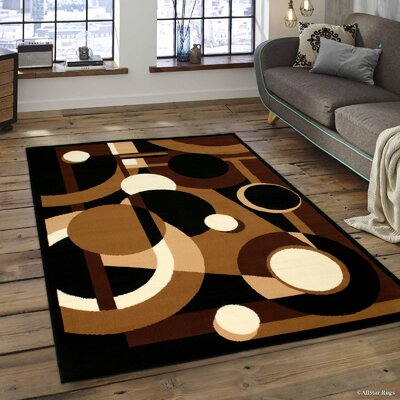 Abstract/Geometric Doormat Rug Size: 5 x 7