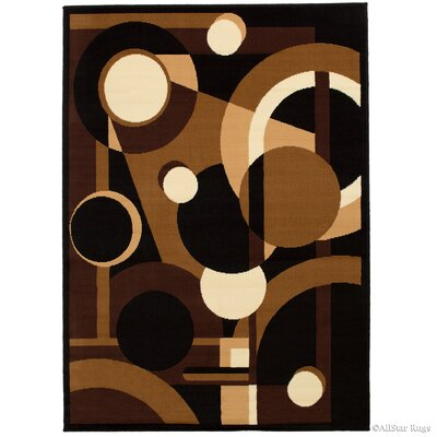 Abstract/Geometric Doormat Rug Size: Rectangle 5 x 7