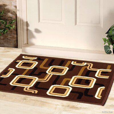Parsons Abstract Designed Rectangle Doormat