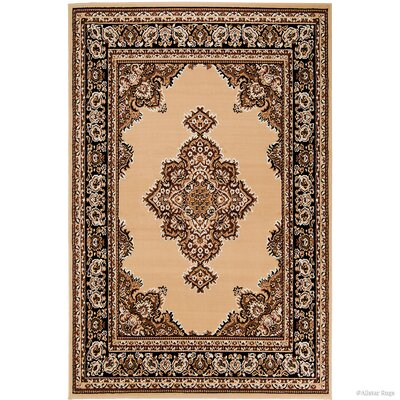 Arison High-Quality Woven Bordered Floral Doormat