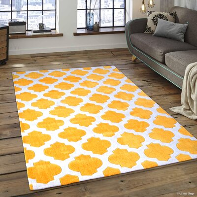 Abbey Transitional Inverted Moroccan Canary Area Rug