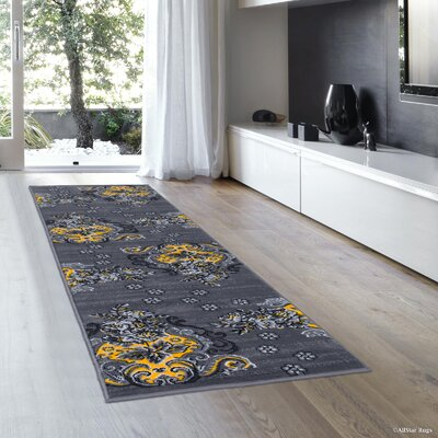 Shepard Yellow/Gray Area Rug