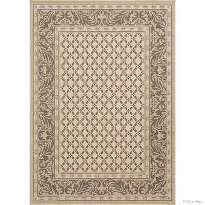 Benningfield All Weather Beige Indoor/Outdoor Area Rug Rug Size: 710 x 102