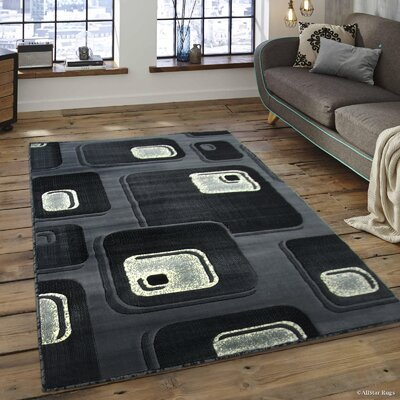 Spencer Gray Area Rug Rug Size: 710 x 102