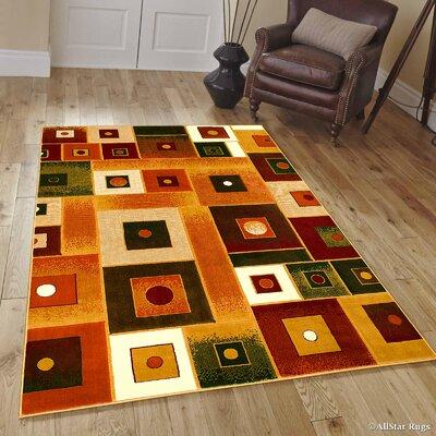Fuller Gold Area Rug Rug Size: 710 x 102