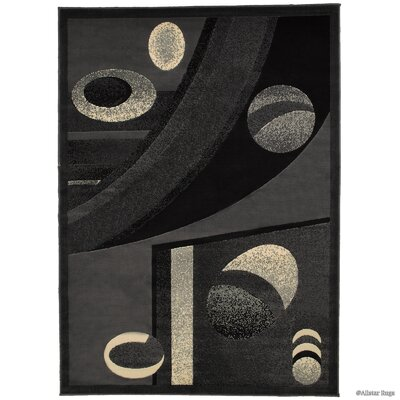 Norman Gray Area Rug Rug Size: 52 x 72
