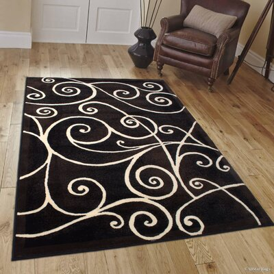 Whitaker Black Area Rug Rug Size: 710 x 102