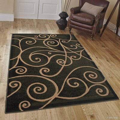Whitaker Sage Green Area Rug Rug Size: 52 x 72