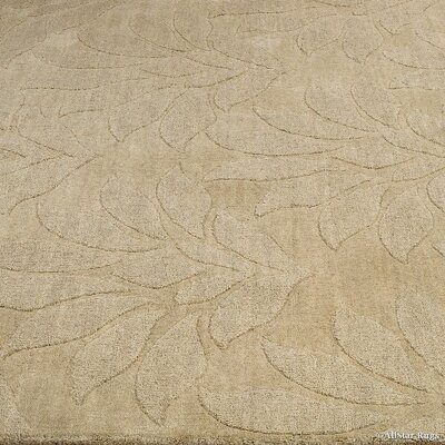 Kellett High-End Extra Soft Natural Wool Hand Made Ivory Area Rug Rug Size: 411 x  7