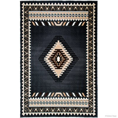 Iberide Rectangle High-Quality Woven Gray Area Rug Rug Size: 710x 102