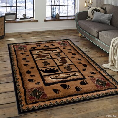 Iberide High-Quality Ultra Soft Berber Area Rug Rug Size: 39 x 51