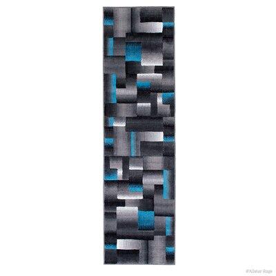 Rowe Blue Area Rug Rug Size: 710 x 10