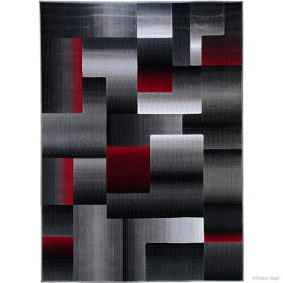 Rowe Lava Area Rug Rug Size: Runner 23 x 6 11