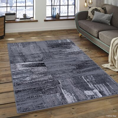 Keeler Shadow Area Rug Rug Size: 5 x 611