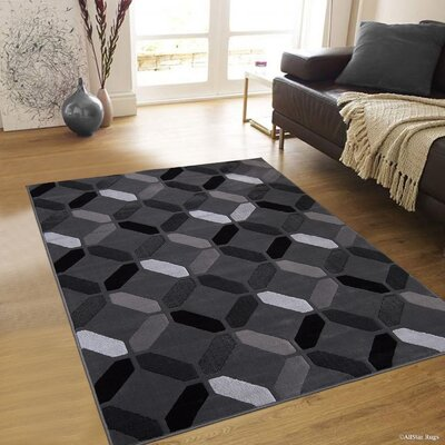 Rowe Shadow Area Rug Rug Size: 5 x 611