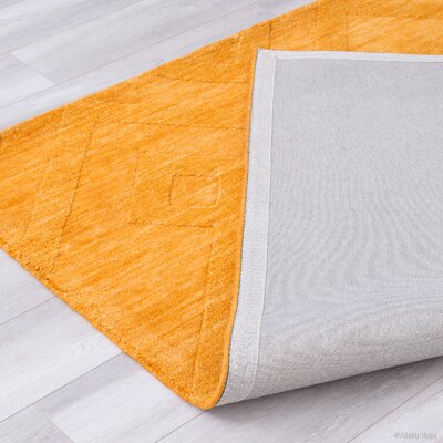 Ramage Wool Mango Area Rug Rug Size: 711 x 911