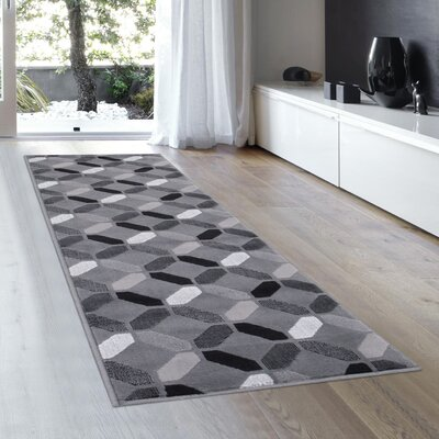 Rowe Shadow Area Rug Rug Size: 23 x 611