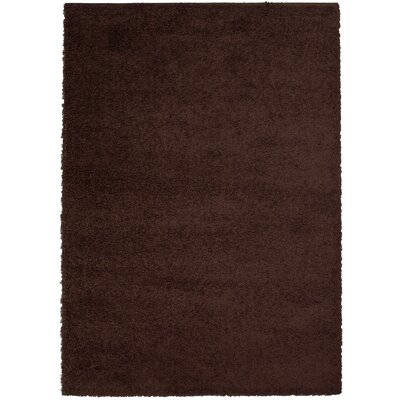 Karpinski Chocolate Area Rug Rug Size: 79 x 10