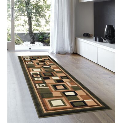 Soto Sage Green Area Rug Rug Size: 52 x 72