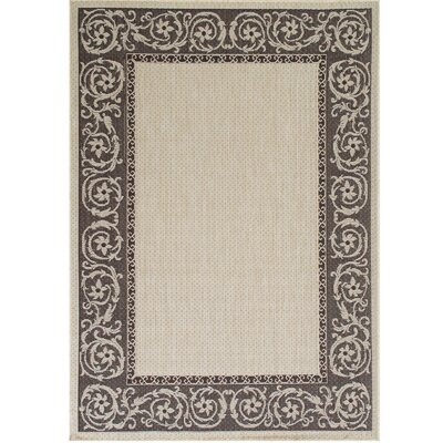 Annapolis Beige Indoor/Outdoor Area Rug Rug Size: 5 x 7