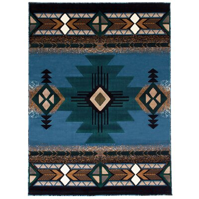 Irenee Blue Area Rug
