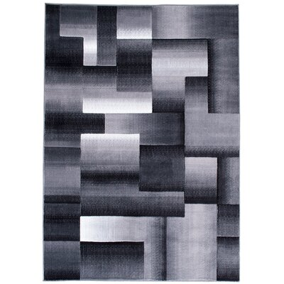 Hutchinson High Quality Exclusive Drop-Stitch Ombre Brick Designed Shadow Area Rug Rug Size: 710 x 10