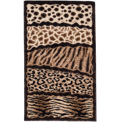 Hopkins High-Density Exotic Animal Skin Indoor Doormat